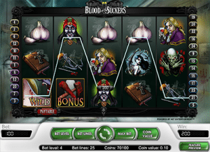 Blood Suckers pokies game