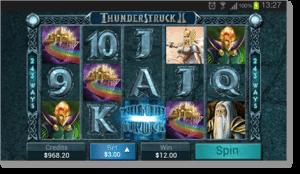 Thunderstruck II Web App Android