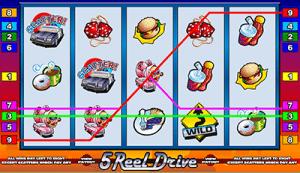 5 Reel Drive pokies