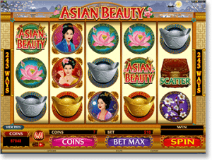 Asian Beauty Hi-Stakes Slot