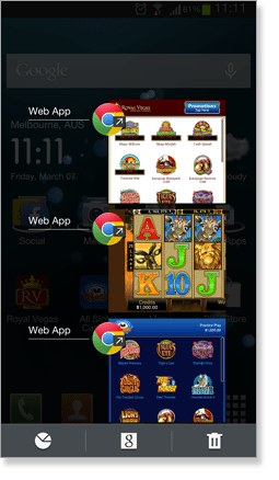 Web Apps Display