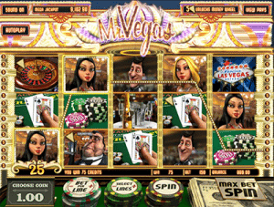 Mr Vegas pokies game