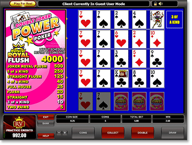 Double Joker Power Poker Online