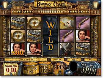 Barbary Coast 3D Slot