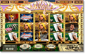 Mr Vegas 3D Internet Slot
