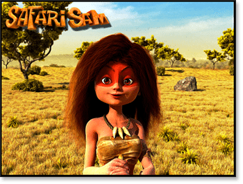 Safari Sam 3D Online Pokie