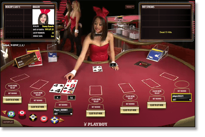 Platinum Play Live Dealer Casino (Playboy Bunny)
