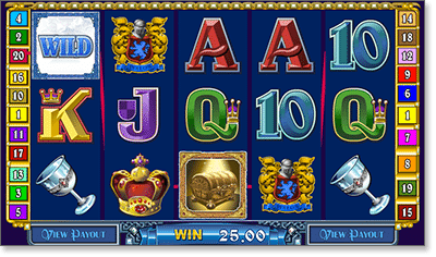Avalon Wild Feature Pokie at Royal Vegas Casino