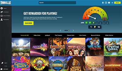 Thrills instant-play casino