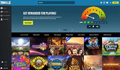 Thrills instant-play casino