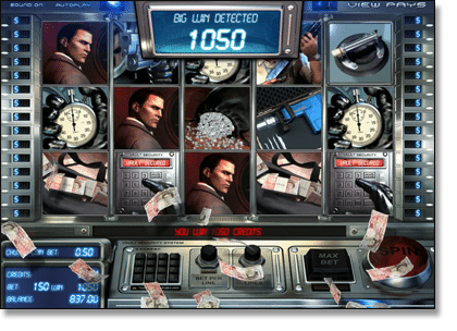 Heist Slot by BetSoft