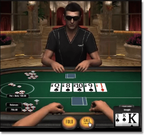 Poker3 Heads Up Texas Holdem from BetSoft