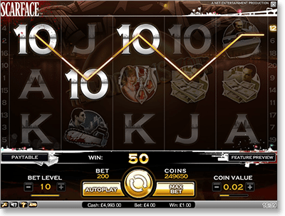 Scarface Video Slot for Real Money