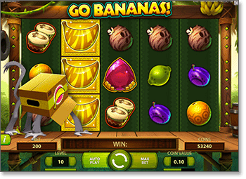 Go Bananas Wild Baboon Feature