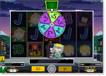Kenny's Multipliers Mini Feature no South Park: Reel Chaos