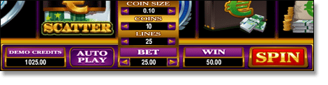 Coin-Size Paylines Betting Limit