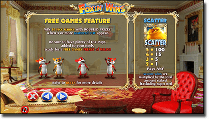 Foxin' Wins Free Game Feature