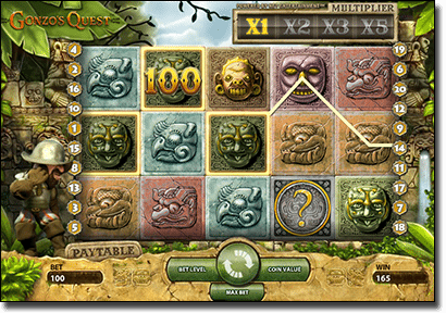 Gonzo's Quest NetEnt real money pokies