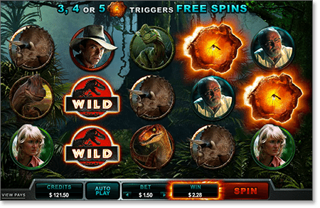Jurassic Park Real Money Slot