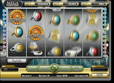 Mega Fortune Online Pokie NetEnt