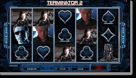 Terminator-2 Online Slot