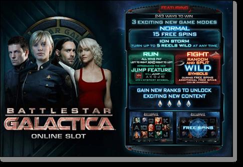 Battlestar Galactica Online Slot Game