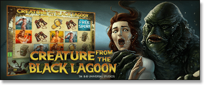 Creature From the Black Lagoon Pokie