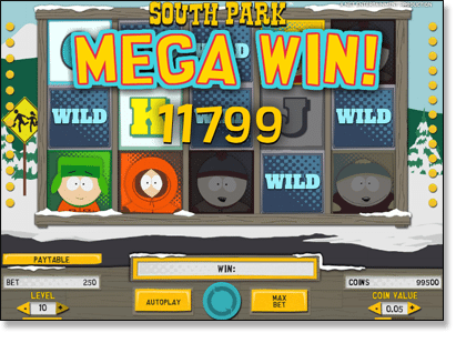 South Park Mega Win