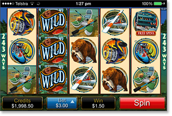 Alaskan Fishing Mobile Pokies