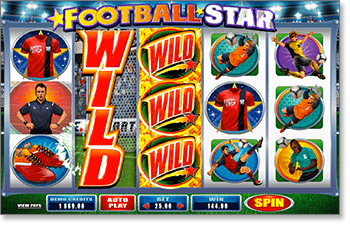 Football Star Feature Pokies