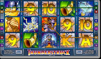 Microgaming Thunderstruck Online Pokie