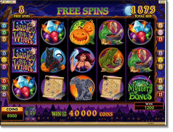 Lucky Witch Free Spins