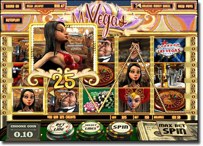 Play 3D Online Slots Mr Vegas at G'Day Casino