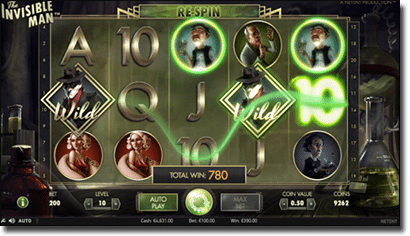 Play The Invisible Man Real Money Slots at G'Day Casino