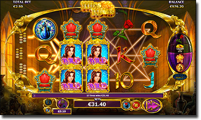 Miss Midas Video Slot gameplay
