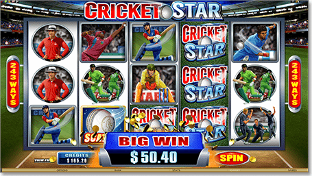 Play Cricket Star at Royal Vegas