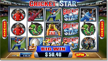 Play Cricket Star at Royal Vegas