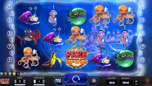 Reef Run 5-reel pokies game