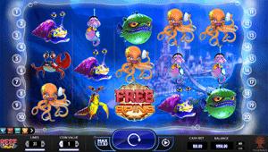 Reef Run 5-reel pokies game