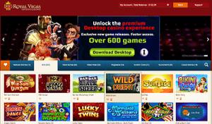 Royal Vegas desktop