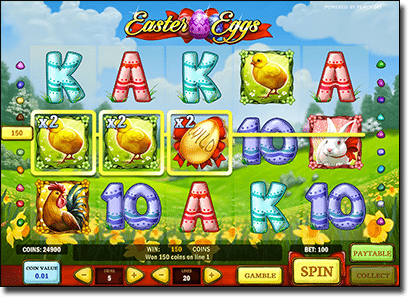 Play Easter Eggs video slot by Play 'n' Go