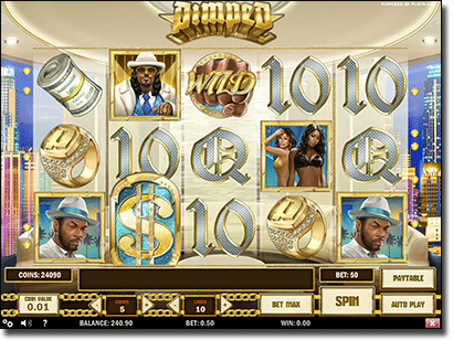 Pimped - online video slot by Play'n'Go