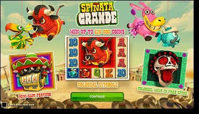 Play Spinata Grande online slots