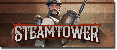 Net Entertainment releases Steam Tower online slots