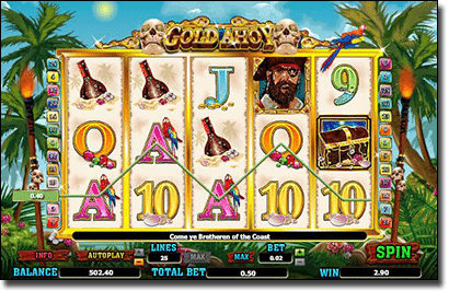 Gold Ahoy real money online pokies