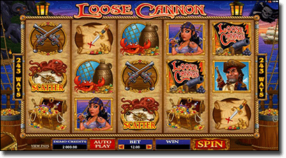 Play Loose Cannon video slots