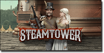 Play Steam Tower slots online for real money