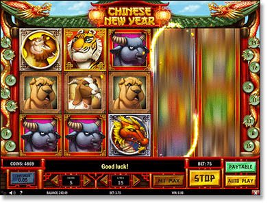 Play Chinese New Year slots online