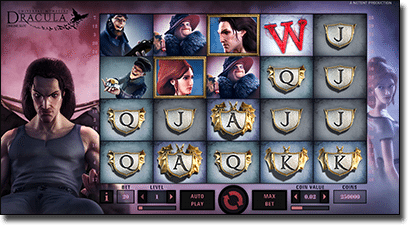 Play Dracula online slots now