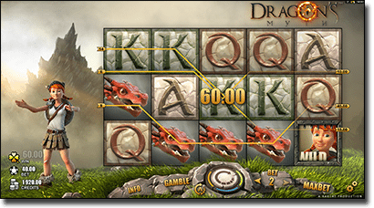Play Dragon's Myth online pokies